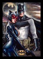 Batman and Catwoman The Legend AP by Twynsunz
