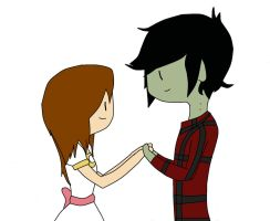 Me and Marshall Lee by Meghan-Zurosaki