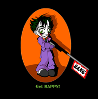 Happy Joker T-Shirt Desgin by CatnipMafia