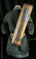Art Nouveau leather quiver by Fantasy-Craft