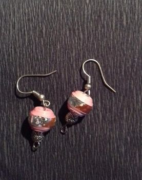 Earrings made from paper by FractalBee