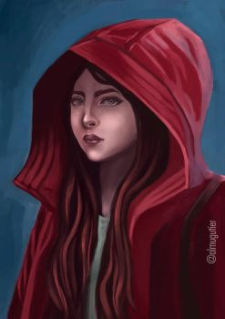 Red ridding hood by autier