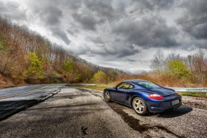 Porsche Cayman by NickKoutoulas