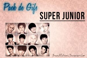 Pack De Gifs SUPER JUNIOR by BreendiEditions