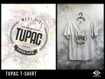 Tupac  T-Shirt by engin-design