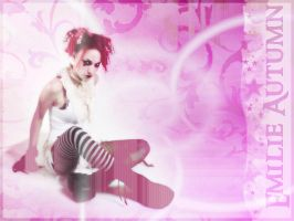 Emilie Autumn Wallpaper by Raben-Feder