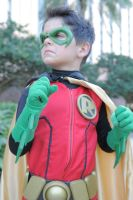 Bruce IM READY TO BE ROBIN!! by ComicChic19