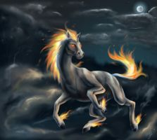 It's A Night Mare by D34tHn0Te