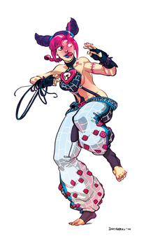 Hexafusion - Jolyne and Juri by dkirbyj