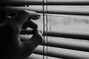 see past the blinds by JenElizabeth