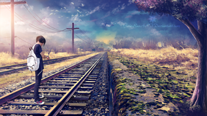 The old railway track by GeneRazART