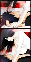 JIJ! frames from pg. 202203 MadaHaru kissing (OC) by Lesya7