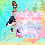 Texture Light ''Color Fun'' by JanieEsposaDeBieber