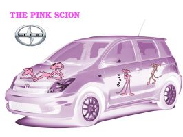 The Pink Scion by MzKitty45601