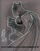 Batman by scarecrowhassan