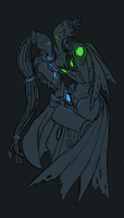 Protoss couple by fujoshiprincess