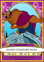 Adam's Fearsome Roar Spell Card by BennytheBeast