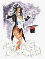 NEW ART - ZATANNA by rantz
