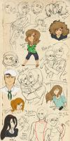 Epic Sketchdump of Epicness 12 by Weresquirrel94
