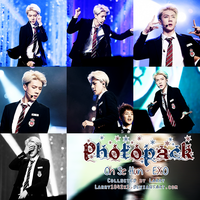 {Photopack #12} Sehun (EXO) by Larry1042k1