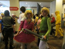 Akicon 2013- Zelda and Link 2 by XGamer-MaidenX