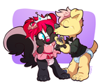 the princess and her prince by cassybabyfur