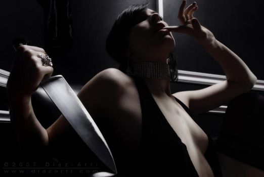 The Knife by nena-suicide