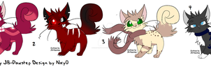 Adoptables for point by StrawberrySplatters