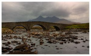 Bridge to the Cuillins by FlippinPhil