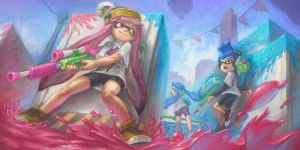 Splatoon Sniper by Lewmus