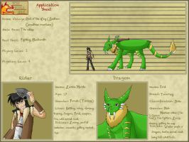 BWW application: Lavvy and Feral by HronawmonsTamer