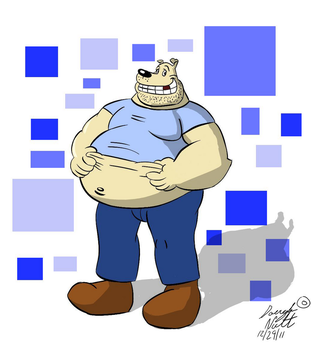 Not the best-looking guy ever... (OLD ART)12/29/11 by Dough-Mutt