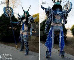 GreenLeaf - front and back side by NiKcKu