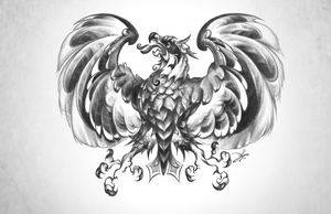 German-American-Eagle {Commission} by OMtNI