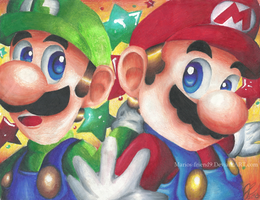 TA:Mario Brothers by Marios-Friend9