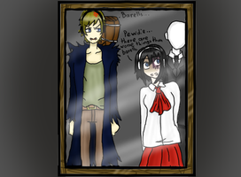Mini and Pewdie colored by minieverfeel