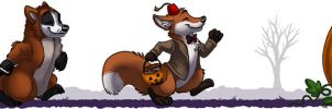 FurPlanet Halloween by Idess