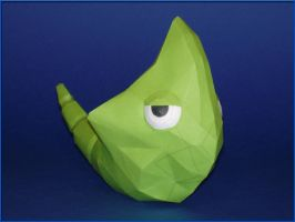 Metapod Papercraft by Skele-kitty