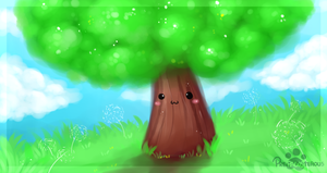 :Happy Tree: by PrePAWSterous