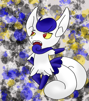 Meowstic WIP by Thira-Gerard