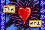 The End Heart Painting by Mad-Willy