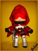 Female Hunter plush version by Momoiro-Botan