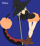 Maka the witch by zukosexy16