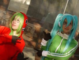 Vocaloid Matryoshka cosplay by nenco