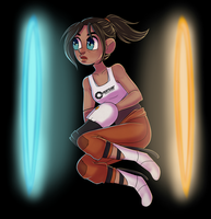 Teeny Tiny Chell by Rad-Pax
