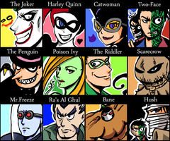 """""""Can you draw Villains?"""" by s-azma"""