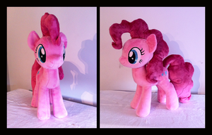Pinkie Pie Plush WIP by Wild-Hearts
