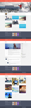 Wildfire - Responsive Portfolio Theme by The-Returnx