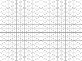 Vector Isometric Tile Template by monkeynohito