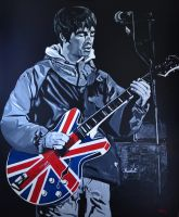 Noel Gallagher by Aza79